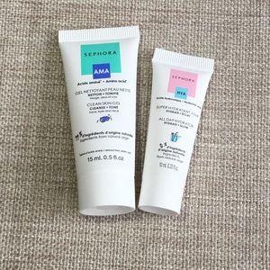 Sephora Samples-Clean Skin Gel & All Day Hydrator